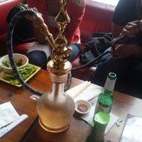 Photo taken at Gazuza Lounge by Faith O. on 3/29/2013