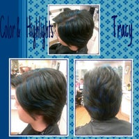 Photo taken at Hair Plus - Sumter Mall by Monique B. on 6/30/2013