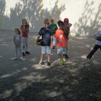 Photo taken at Van Vorhees Playground by Raul M. on 6/20/2014