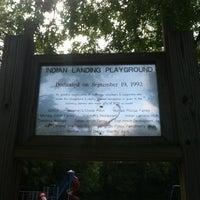 Photo taken at Indian Landing Playground by Jennifer R. on 7/21/2013