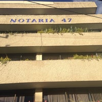 Photo taken at Notaria 47 by Elias M. on 3/10/2014