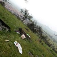 Photo taken at Cerro El Manzano by Mariana R. on 9/18/2014