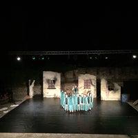 Photo taken at Υπαίθριο Θέατρο Φρουρίου Τρικάλων by John D. on 6/23/2016