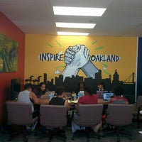 Photo taken at Oakland Digital (ODALC) by Joey C. on 8/21/2014