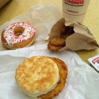 Photo taken at Dunkin Donuts by Ashley M. on 1/7/2013