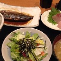 Photo taken at 魚串 然 by osamuchan on 1/31/2014
