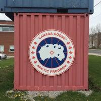 canada goose factory on castlefield