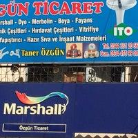 Photo taken at özgün ticaret by Sezgin S. on 3/15/2014