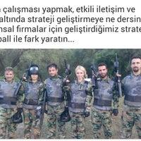 Photo taken at macera noktası paintball by Ömer Ö. on 9/4/2014