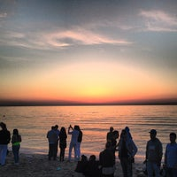 Photo taken at Kudos Beach by Carina E. on 5/4/2013