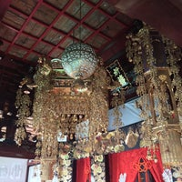 Photo taken at 金秀寺 by Kazuki W. on 2/24/2015