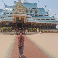 Photo taken at Wat Pa Phu Kon by amm339 on 5/10/2018