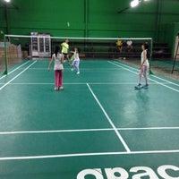Photo taken at Dewan Badminton BCB by Annieee ❥ 안니♔ 🌸✨ on 11/29/2013
