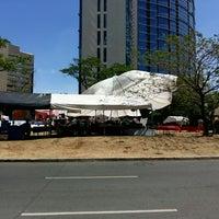Photo taken at De Jesus Circle Fort by Moen on 3/7/2015