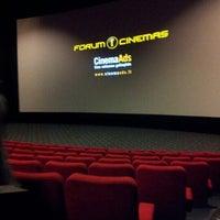Photo taken at Forum Cinemas Vingis by Domas S. on 9/29/2012