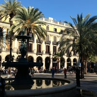 Foto tomada en Plaza Real por Nicolas B. el 2/23/2013