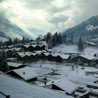 Photo taken at Bahnhof Gstaad by Nicolas B. on 2/12/2013