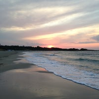 Photo taken at Spiaggia Rodos by Nicolas B. on 7/14/2013