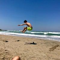 Photo taken at Spiaggia Rodos by Nicolas B. on 7/17/2017
