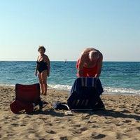 Photo taken at Spiaggia Rodos by Nicolas B. on 7/12/2013