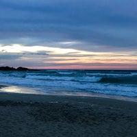 Photo taken at Spiaggia Rodos by Nicolas B. on 7/15/2017