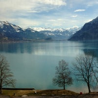 Photo taken at Harbour Interlaken Ost by Nicolas B. on 3/12/2013