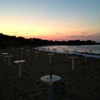 Photo taken at Spiaggia Rodos by Nicolas B. on 7/15/2013