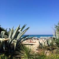 Photo taken at Spiaggia Rodos by Nicolas B. on 7/5/2015