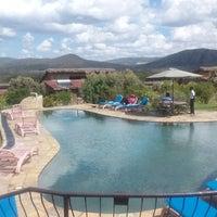 Photo taken at Lake Naivasha Kongoni Lodge by John Paul Muchiri N. on 4/5/2014