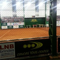 Photo taken at Canoas Tênis Center by Ricardo A. on 8/13/2014