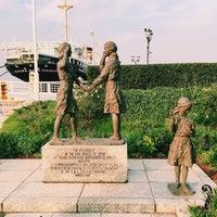 Photo taken at ガールスカウト世界連盟加盟記念像 by Rinorinon on 9/26/2016
