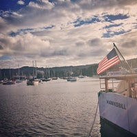 Photo taken at Breakwater Cove Marina by Ben R. on 10/10/2012