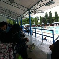 Photo taken at kolam renang awam by Scarlow M. on 6/17/2014