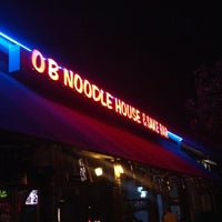 Foto scattata a OB Noodle House & Sake Bar da Javier M. il 10/2/2012