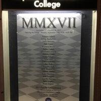 Photo taken at Marymount Manhattan College by Florian S. on 10/15/2017
