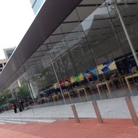 Photo taken at Apple Pioneer Place by Brian W. on 6/2/2014