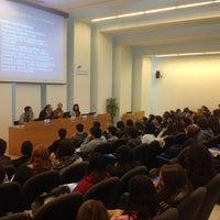 Photo taken at Universitat de Girona - Facultat de Dret by Albert R. on 2/21/2014