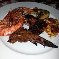 Photo taken at The Gayam Seafood Barbeque & Bar by wan rosmaiza w. on 4/20/2013