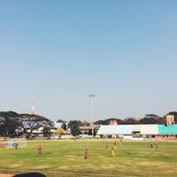 Photo taken at Sing Buri Stadium by LALICHA T. on 3/2/2014