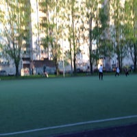 Photo taken at Футбольное поле by Dima V. on 5/23/2014
