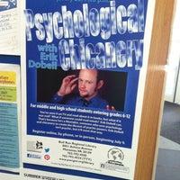 Photo taken at Bull Run Regional Library by Mentalist E. on 7/23/2014