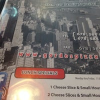 Photo taken at Gordo's New York Pizza by Nikki B. on 5/23/2014
