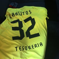 Photo taken at Los Amigos del Futbol by Carlos V. on 9/6/2014