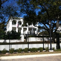 Photo taken at Texas Governor's Mansion by Yeadon S. on 1/29/2014