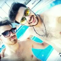 Photo taken at Asya Spor Merkezi Yüzme Havuzu by Mertcan G. on 7/30/2016