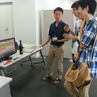 Photo taken at Yokohama Science Frontier High School by Hiroya M. on 9/21/2013