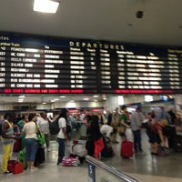 Photo taken at New York Penn Station (NYP) by Jane K. on 6/23/2013