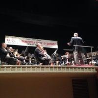 Photo taken at Teatro Carani by Antonio Z. on 10/5/2014