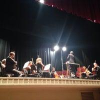 Photo taken at Teatro Carani by Antonio Z. on 7/30/2014