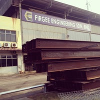 Photo taken at Firgee Engineering Sdn Bhd by Syafiq J. on 3/4/2014